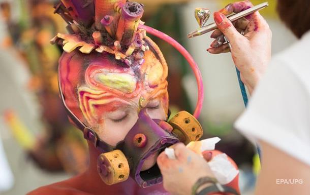 Жуткое искусство: фестиваль боди-арта в Австрии