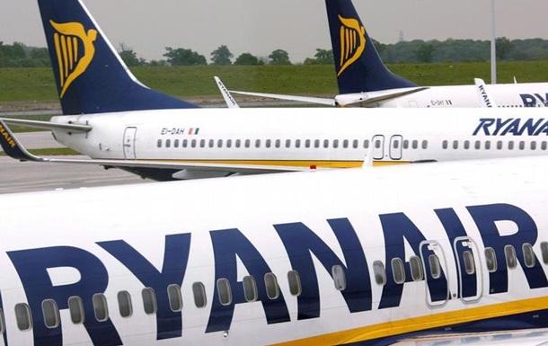 Ryanair скасовує 600 рейсів через страйки