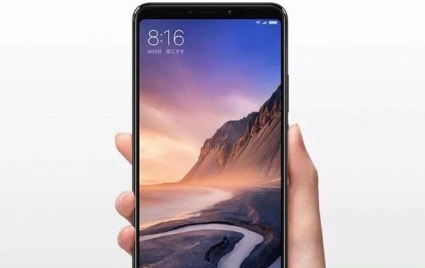 Представлений смартфон-гігант Xiaomi Mi Max 3