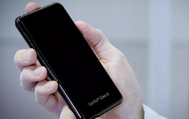 Corning випустила надстійке скло Gorilla Glass 6