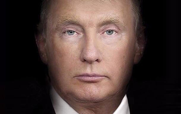 Журнал Time поєднав обличчя Трампа і Путіна для обкладинки