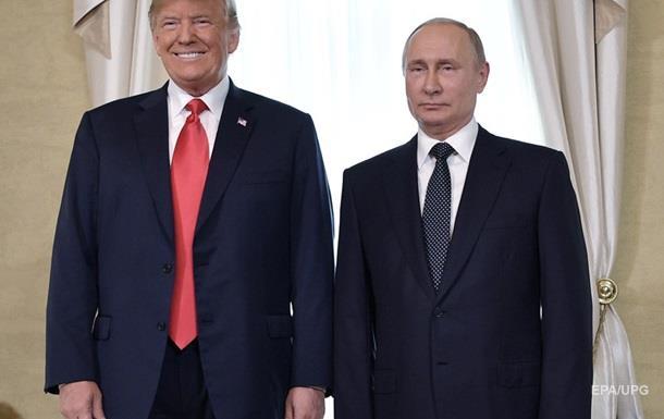 Трамп запросив Путіна приїхати до США восени
