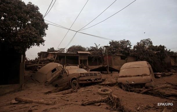 Виверження вулкана в Гватемалі: кількість жертв перевищила 120