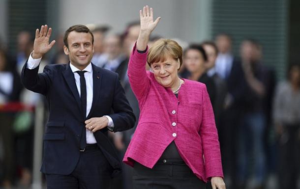 Немцы больше доверяют Макрону, чем Меркель