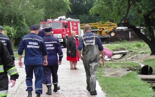 У Чернігові підтопило понад 20 будинків