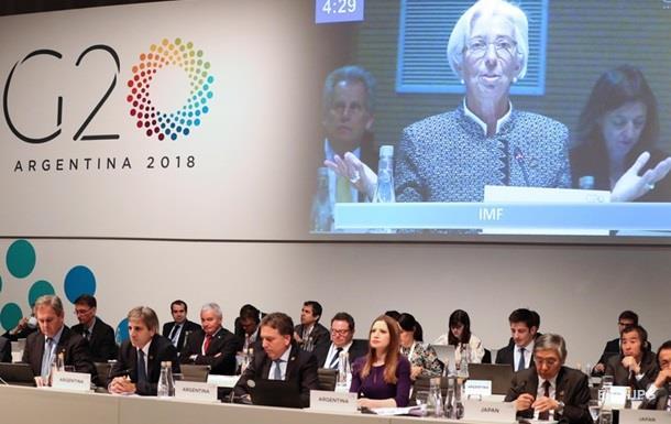 В G20 назвали риски для мировой экономики