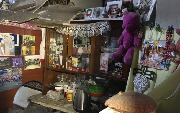 У Житомирі в житловому будинку завалилася стеля