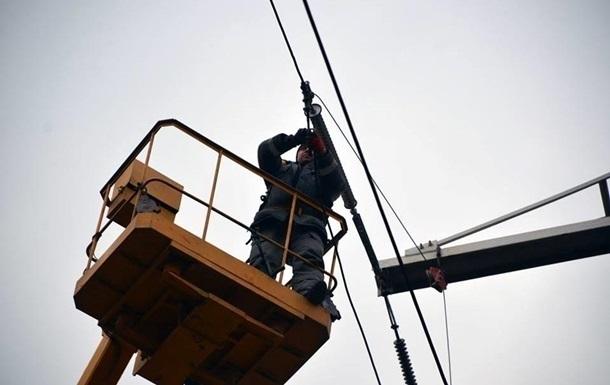 В Луганской области частично восстановили электроснабжение
