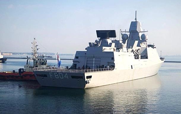 В порт Одессы заходят военные корабли НАТО