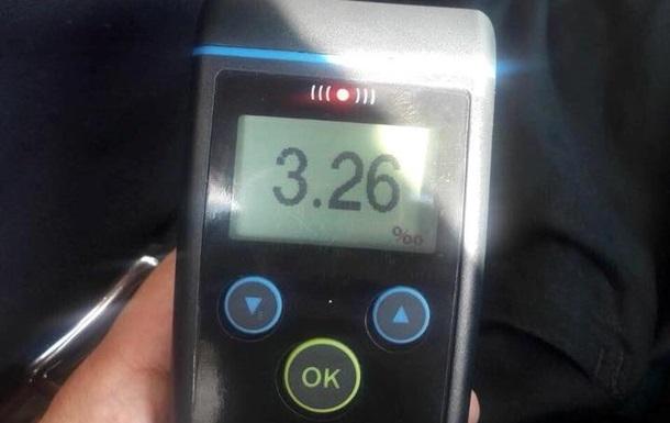 У крові львівського таксиста виявили перевищення норми алкоголю в 16 разів