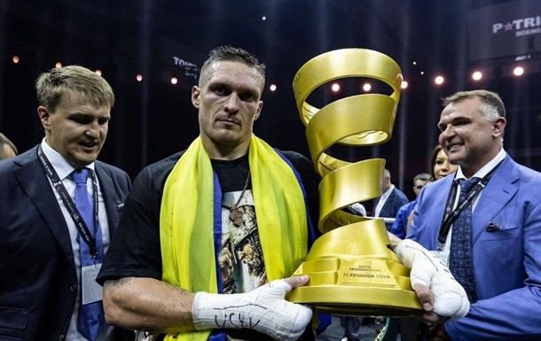 Усик прокоментував ідею присвоєння йому звання Героя України
