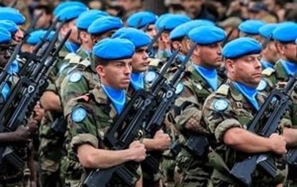 Донбассу необходимы миротворцы.