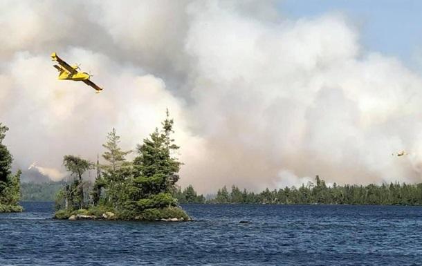 Канаду охопили лісові пожежі