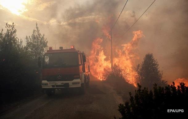 Пожары в Греции: число погибших достигло 50 человек