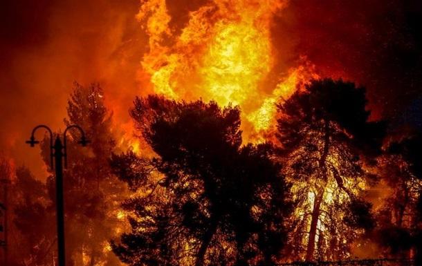 Пожежі в Греції: кількість загиблих зросла до 50