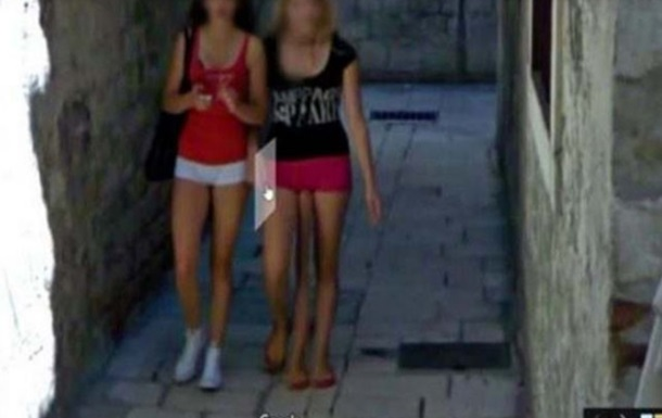 Google  обнаружил  в Хорватии трехногую женщину
