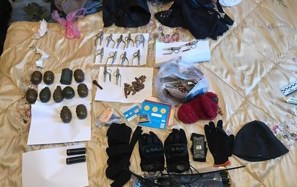 В Киеве в квартире нашли арсенал оружия