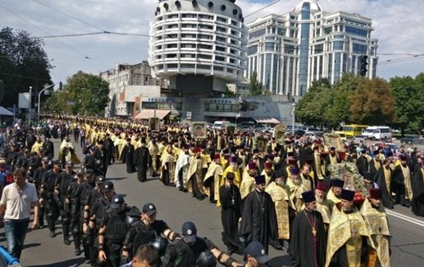 У Києві очікують до 200 тисяч учасників хресних ходів