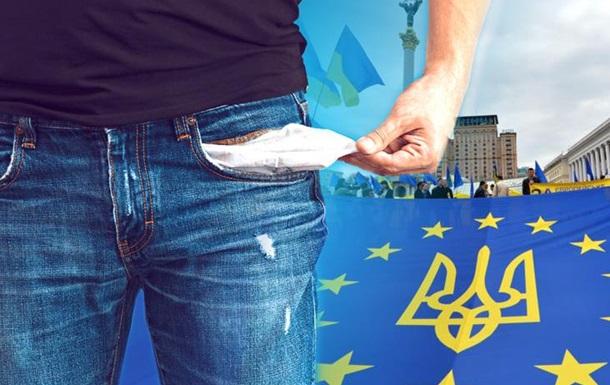 После евромайдана уровень бедности в Украине серьезно вырос