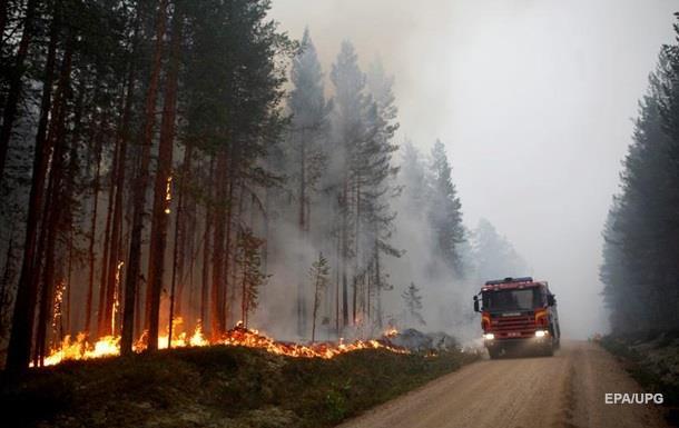 У Швеції згоріло понад 25 тисяч гектарів лісу