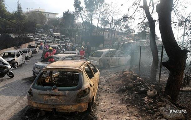 Україна пропонує Греції допомогу в гасінні пожеж