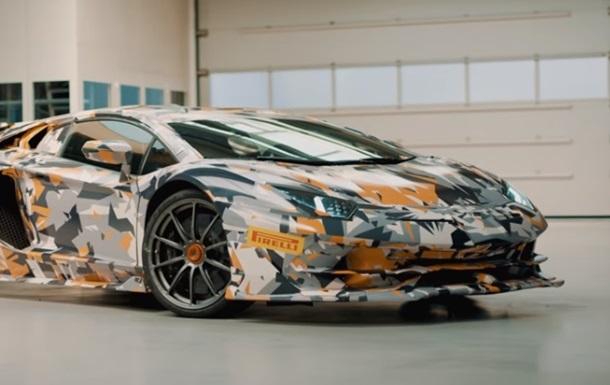 Сверхмощный суперкар Lamborghini показали на видео