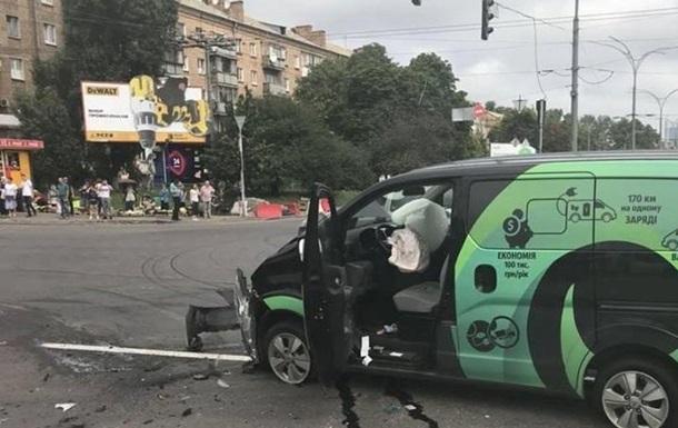З явилося відео смертельної ДТП в Києві