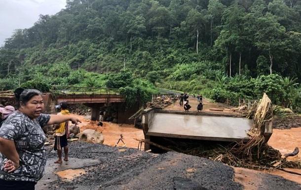Прорив дамби в Лаосі: загинули понад 40 осіб