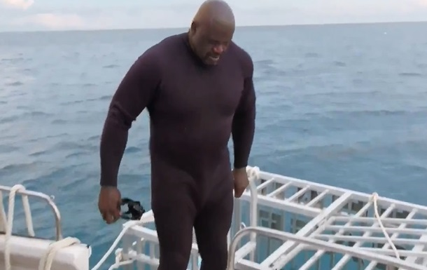 Акула напала на легендарного баскетболиста О Нила