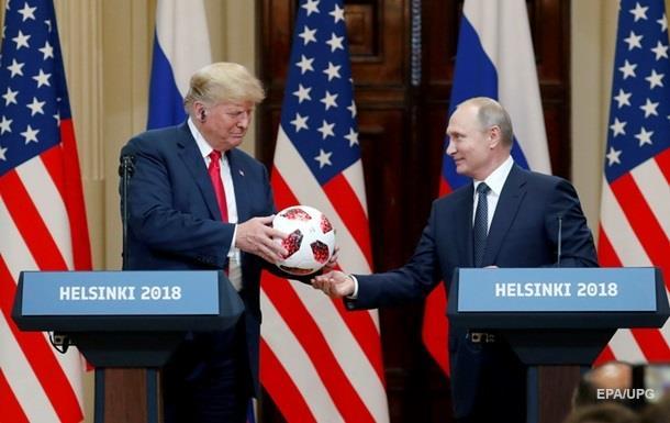 У подарованому Путіним Трампу м ячі знайшли чип - ЗМІ