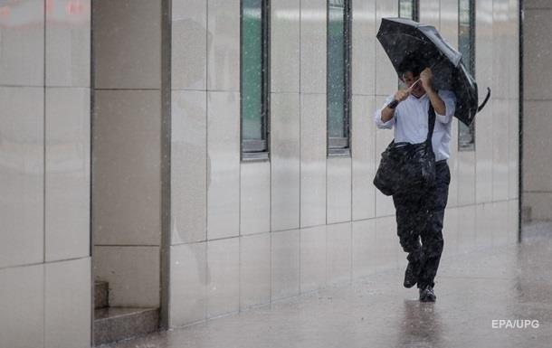 В Україні прогнозують дощі з грозами