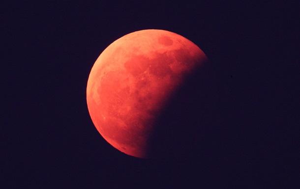Историческое лунное затмение июля 2018