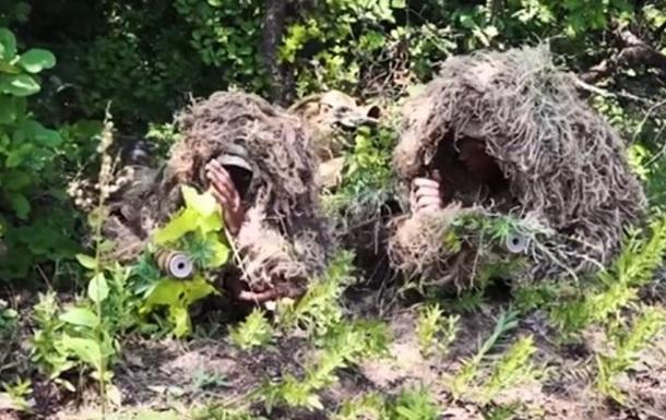 Навчання снайперів ЗСУ показали на відео