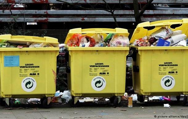 Німці залишають найбільше пакувального сміття у Європі