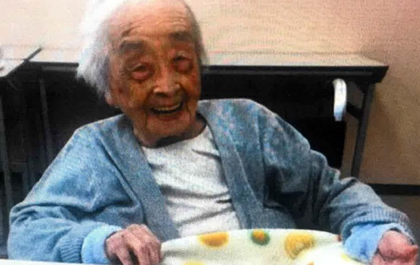 В Японії померла найстаріша мешканка планети