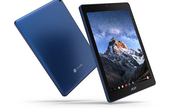 Планшет Acer Chromebook Tab 10 поступил в продажу