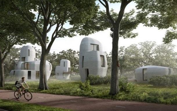 В Нидерландах на 3D-принтере напечатали жилой комплекс