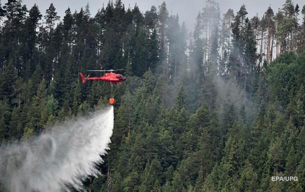 Швеція просить у НАТО допомоги в гасінні пожеж