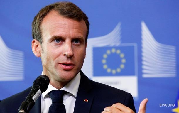 Макрон против торгового соглашения между ЕС и США