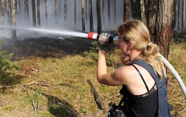 Під час лісової пожежі під Берліном виявили зброю Другої світової