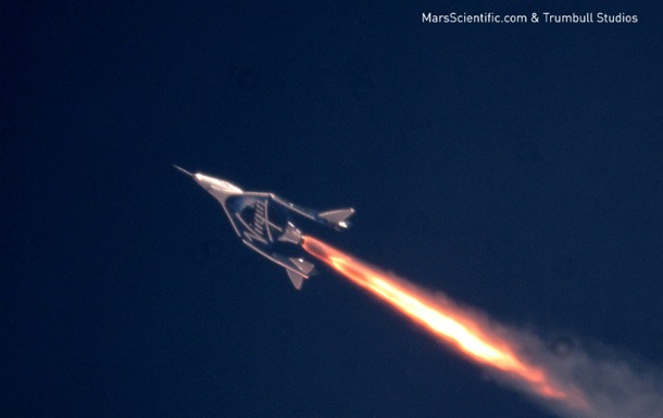 Космический корабль Virgin Galactic взлетел выше, чем когда-либо