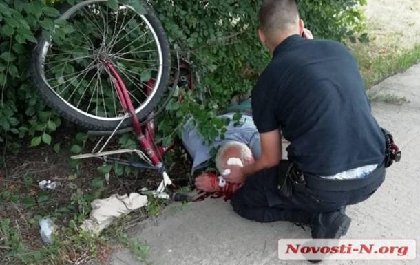 У Миколаївській області знайшли велосипедиста з проломленою головою