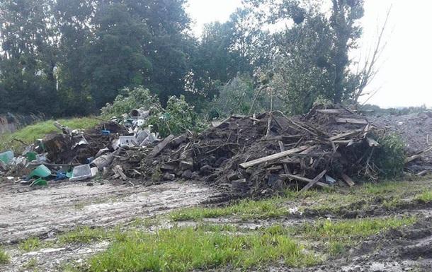 Ущерб от свалки в парке Львова оценили в 110 млн гривен