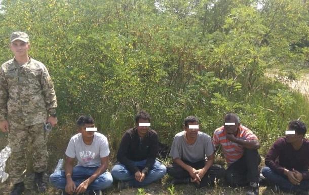 У Закарпатській області затримали нелегальних мігрантів