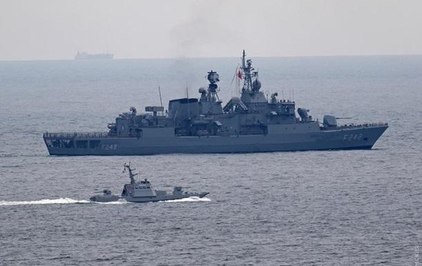 Корабли Украины и НАТО провели совместные учения