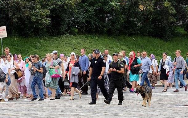 Хресна хода: поліція нарахувала 20 тисяч осіб