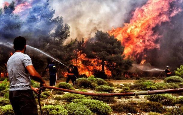 Пожежі в Греції: кількість жертв зросла до 87