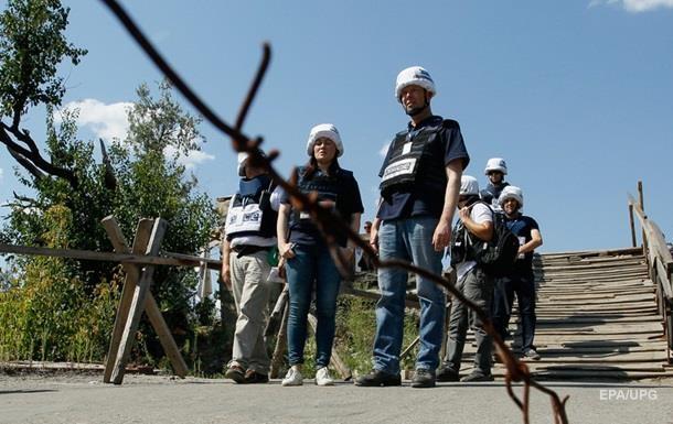 Місія ОБСЄ зафіксувала 120 вибухів на Донбасі