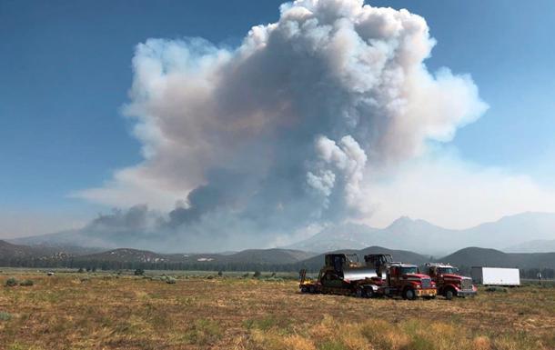 У Каліфорнії вирують лісові пожежі: загинуло двоє людей