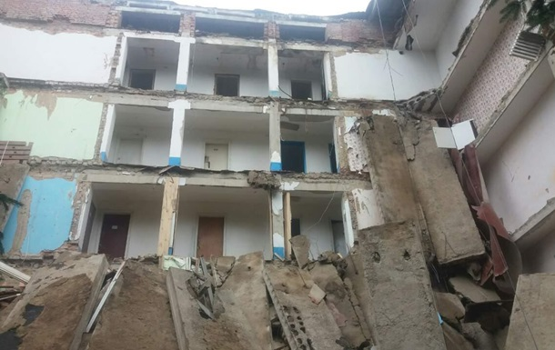У Житомирській області зруйнувався гуртожиток технікуму